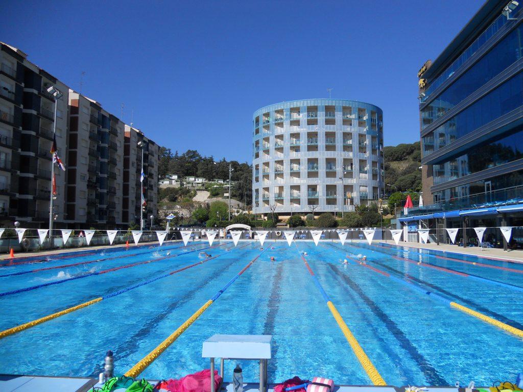 Crol Centre Calella - Olympischer Pool - Calella - Barcela küste