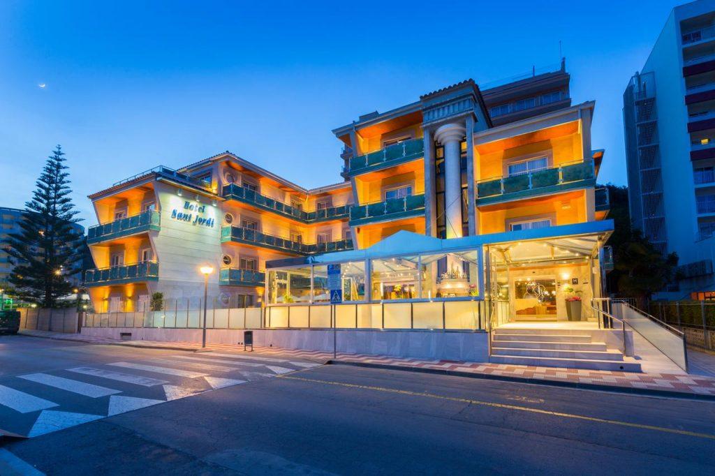 Crol Centre Calella - Piscina olímpica - Hotel Sant Jordi - Calella Costa de Barcelona